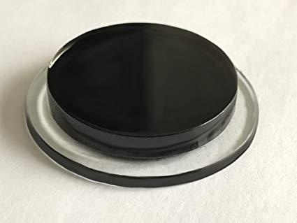 2//3 Scarico in vetro effetto DE TERGICRISTALLO Tappo nero lucido elimina l/'occhiello KIA LAZIO
